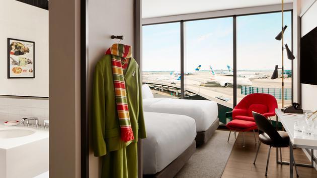 Hotel, TWA Hotel, rooms, hotel room