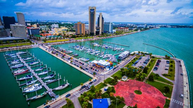 Corpus Christi, bay, marina