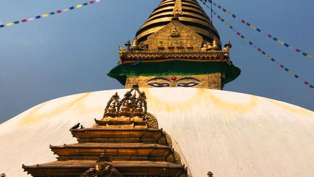 Swayambhunath Temple, Kathmandu, Nepal