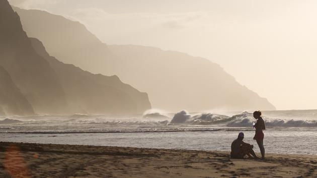 Kee Beach, Napali Coast, Kauai