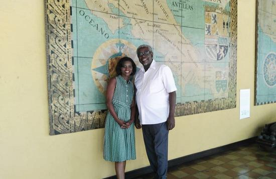 Kim Haas and Writer Quince Duncan, Afro-Latino Travels with Kim Haas