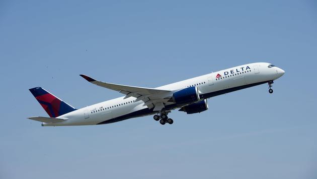 Delta Airplane exterior (Photo via Delta)