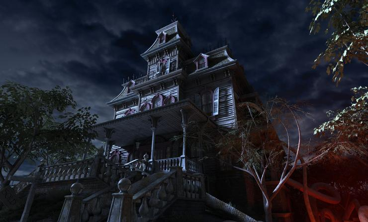 halloween, haunted house, travel