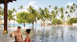 Poolside at Hilton La Romana, An All-Inclusive Adult Resort, Punta Cana, Dominican Republic.