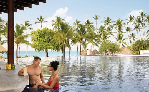 Poolside at Hilton La Romana, An All-Inclusive Adult Resort, Punta Cana, Dominican Republic.