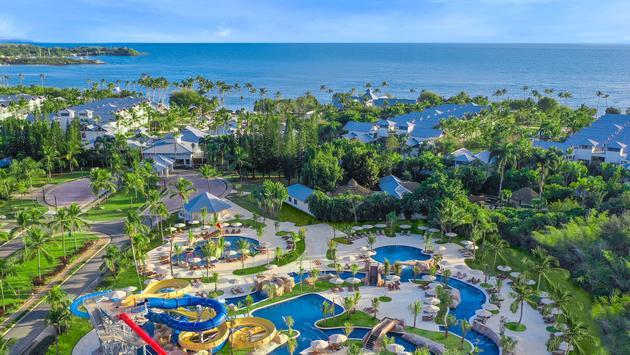 Brand-new waterpark at Hilton La Romana, An All-Inclusive Resort, Punta Cana, Dominican Republic.