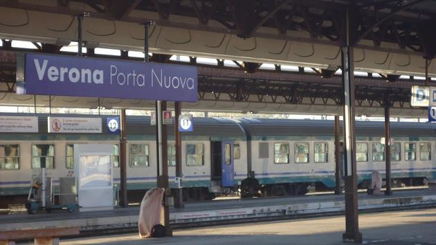 Train, Italy, Europe, Verona