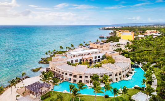 Aerial view of Sanctuary Cap Cana
