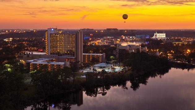 Disney Springs & Wyndham Garden Lake Buena Vista