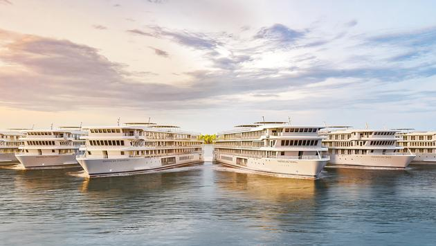 ACL's new modern riverboat fleet.