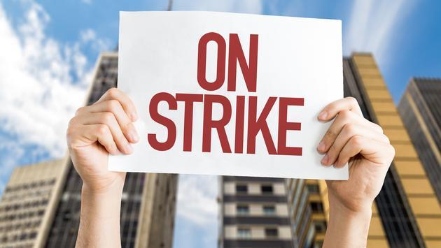 strike, sign, travel