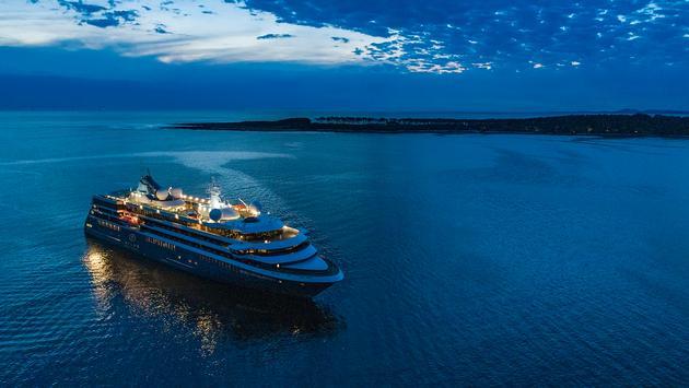 Atlas Night Ship Photo