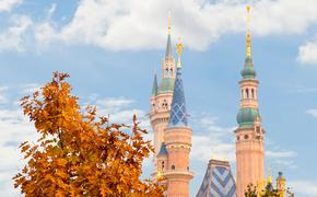 Shanghai Disney Resort in autumn