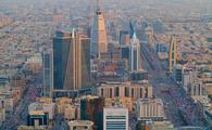 Aerial view of Riyadh downtown on February 29, 2016 in Riyadh, Saudi Arabia.