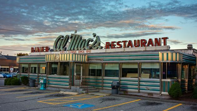 Al Mac's Diner, Massachusetts, Diner, Americana