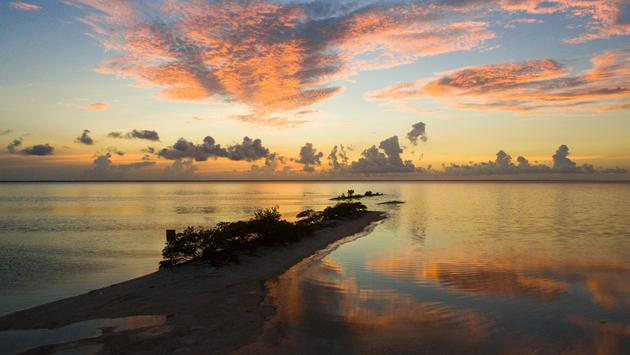Isla Blanca Sunset