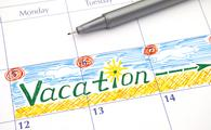 Reminder Vacation in calendar (Photo via Ekaterina79 / iStock / Getty Images Plus)