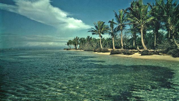 Plage de Sainte-Anne on Guadeloupe
