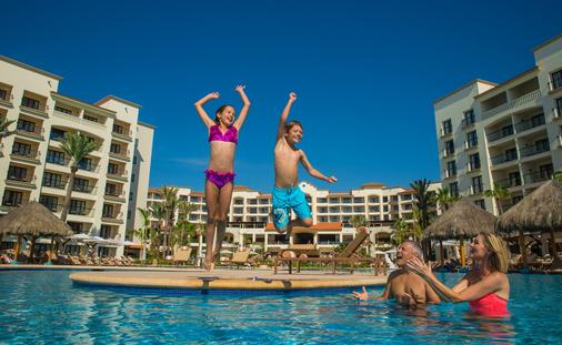 Family enjoying the pool at Hyatt Ziva Los Cabos