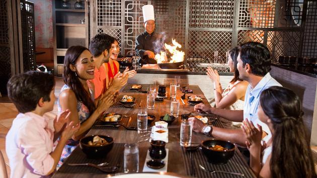 FuZion Asian Grill, Hyatt Ziva Rose Hall