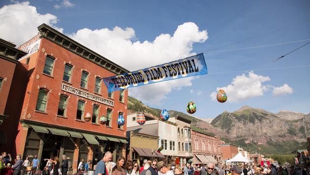 Film festival opening in Telluride, Colorado
