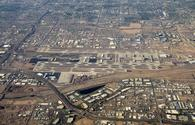 Aerial view of Phoenix Sky Harbor International Airport