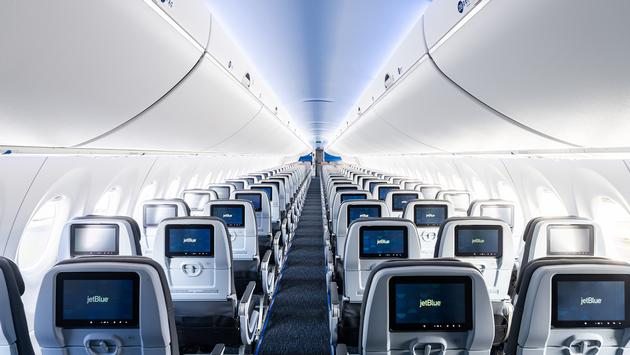 JetBlue's new Airbus A220-300