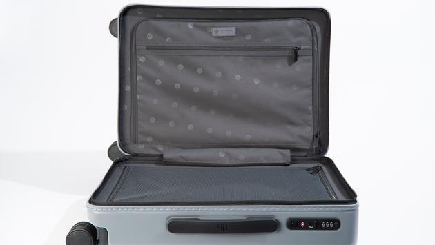 NINETYGO's Manhattan Carry-On Luggage Opened