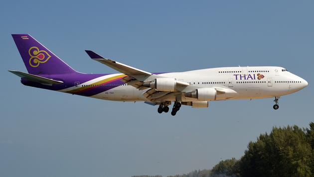 Thai Airways Boeing 747.
