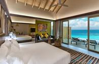 Platinum Overwater Pool Villa at Hard Rock Hotel Maldives