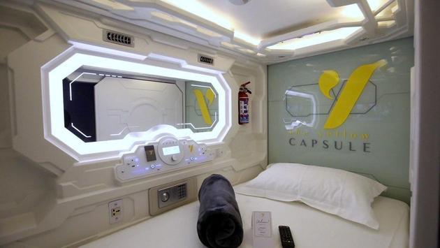 Le Yellow Capsule Hotel à Cancun