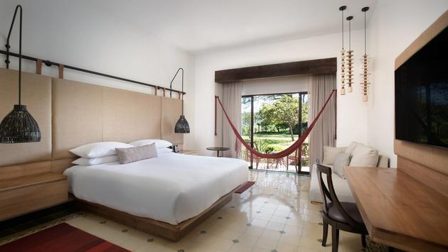 Garden Terrace Room at Los Suenos Marriott Ocean & Golf Resort in Costa Rica