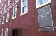 The Yuengling Brewery in Pottsville, Pennsylvania