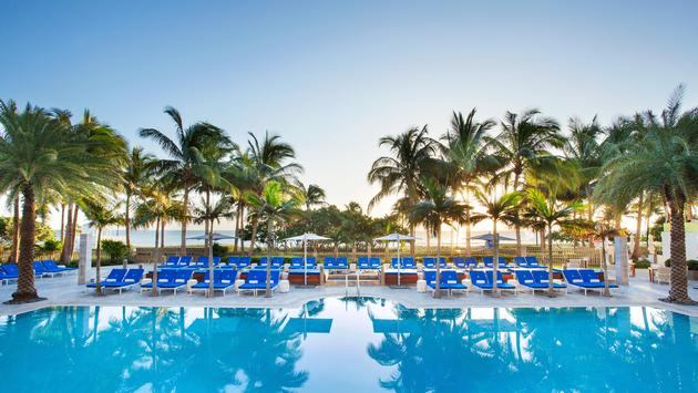 A stunning pool in Miami