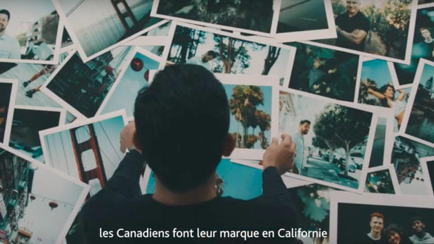 Nouvelle campagne marketing Air Canada