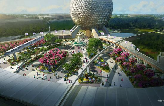 Epcot Enhancements