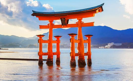 Itsukushima Floating Torii Gate, Japan