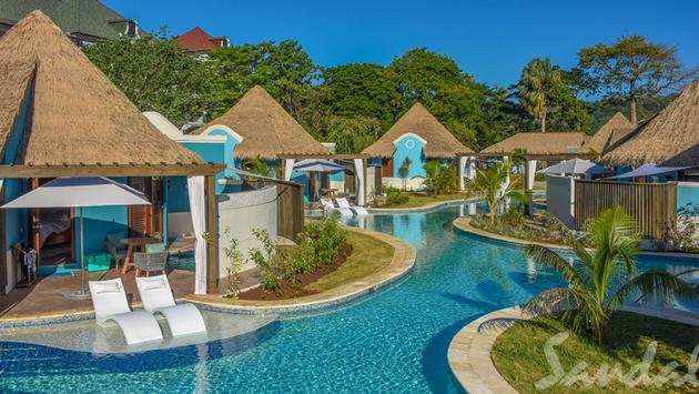 South Seas Swim-Up Rondoval Butler Suite with Private Pool Sanctuary