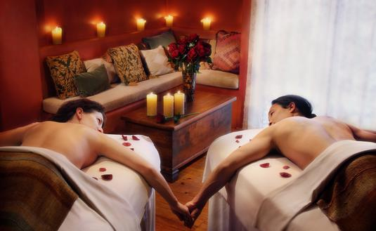 Inn and Spa at Loretto, Santa Fe, spa, massage, couple