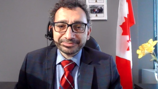 Omar Alghabra, ministre des Transports du Canada
