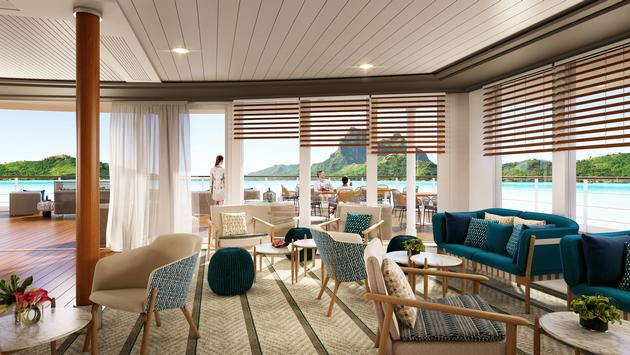 The Gauguin undergoes a renovation in March 2021.