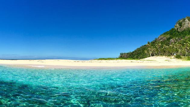 Fiji's Monuriki Island