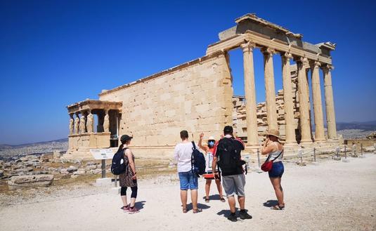 Intrepid Travel in Greece