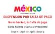 La plataforma digital de Visit Mexico permanece suspendida desde el 22 de julio pasado
