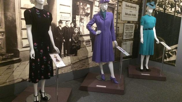 Holocaust exhibit at the Jewish Museum of Maryland