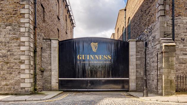Guinness Storehouse; Dublin, Ireland.