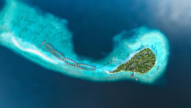 Joali Maldives is located on its own private island in Raa Atoll
