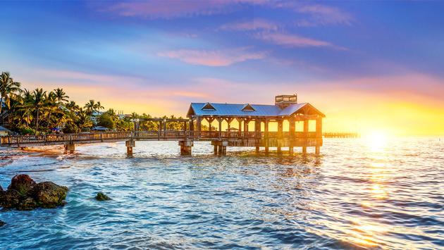 Pier at Key West, Florida