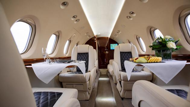private jet use is up during the pandemic