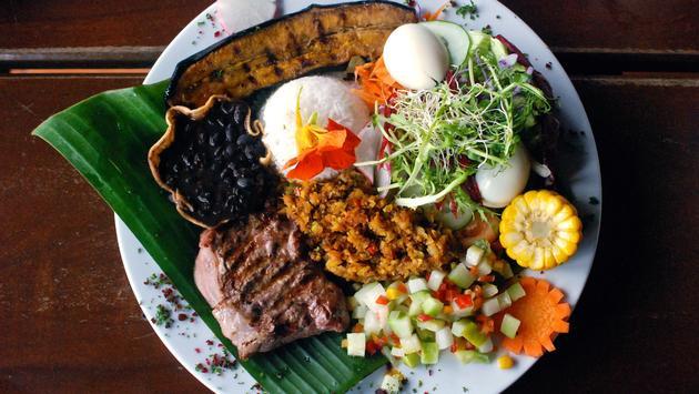 Costa Rican Casado Dish